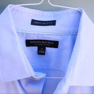 Banana Republic Men's Grant Slim Fit Shirt